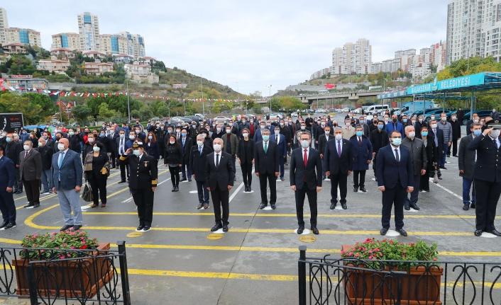 Başakşehir'de Gazi Mustafa Kemal Atatürk Anıldı