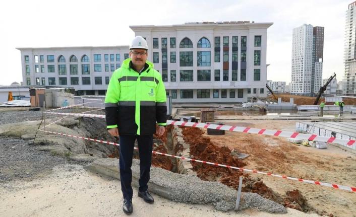 Başakşehir'e Çevre Dostu Belediye Hizmet Binası