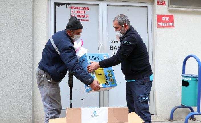 Başakşehir'de Covid-19'a Karşı Hijyen Seferberliği