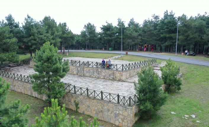 Başakşehir Belediyesi'nden Başakşehirlilere Özel Yeşil Alan