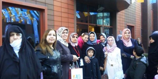 Ak Parti Başakşehir Kadın kolları Serap Özdemir'e emanet