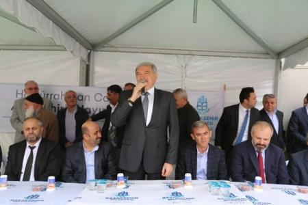 Altınşehir Halilurrahman Camisi açıldı