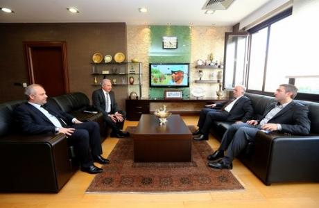Aziz Babuşçu Belediyeyi Ziyaret Etti