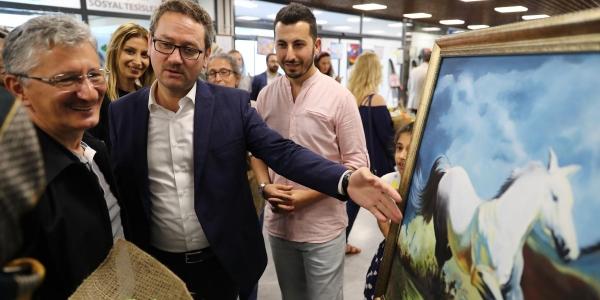 Bakmer Resim Atölyesi'nin İlk Sergisi Açıldı