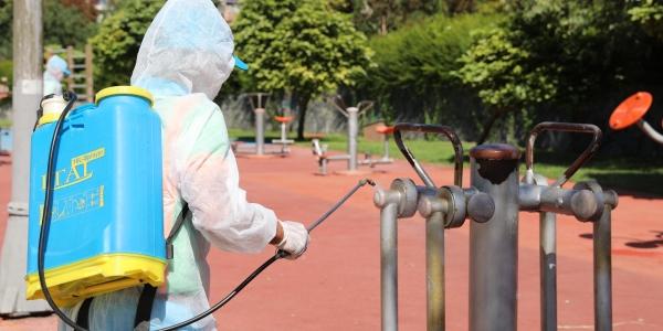 Başakşehir 'de Çocuk Parkları Virüse Karşı Güvende