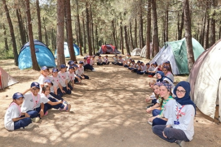 Başakşehir İzci kampı başlıyor