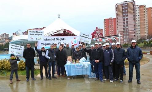 """Başakşehir """"Sağlıklı Yaşam"""" için yürüyor"""