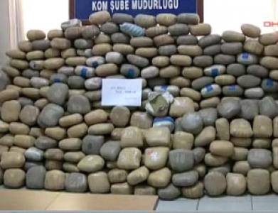 Başakşehir ve Küçükçekmece'de 44 kilo 850 gram eroin