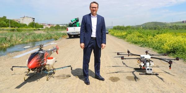 """Başakşehir'de """"Ekosisteme Dost"""" Sivrisinek Mücadelesi"""