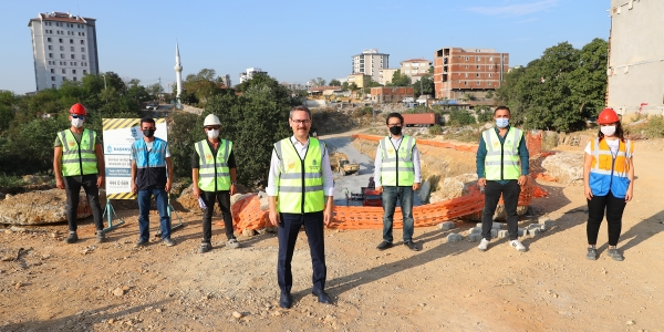 Başakşehir'de Tem Otoyolu'na Bir Bağlantı Daha