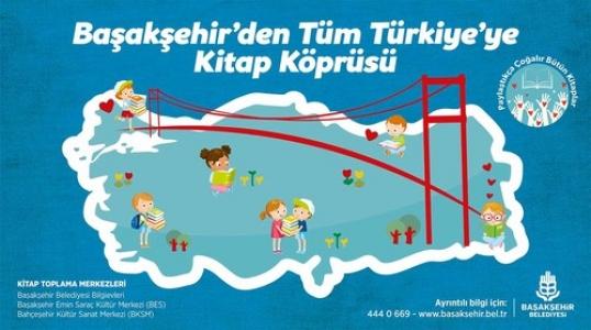 Başakşehir'den tüm Türkiye'ye kitap köprüsü