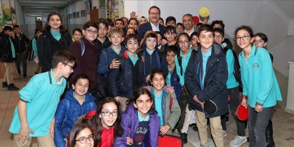 Başkan Kartoğlu Öğrencileri Virüslere Karşı Uyardı