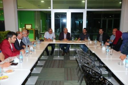 Başkan Uysal, Başakşehir'li Gazeteciler ile Buluştu