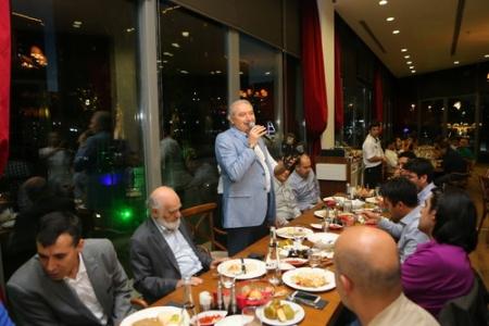 Başkan Uysal, Basın mensupları ile iftar açtı
