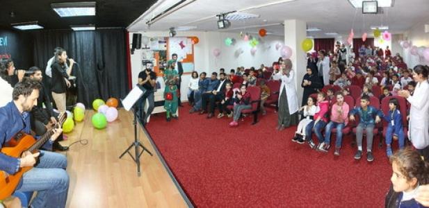 Bilgievi öğrencileri Suriyeli kardeşlerini ağırladı