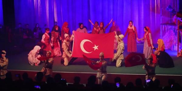 'Çanakkale Ruhu' Başakşehir'de Yaşıyor