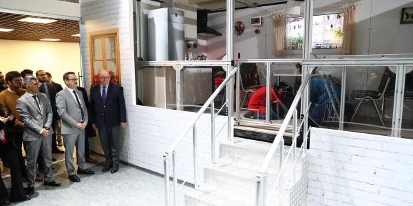 Deprem Simülasyon Merkezi Açıldı