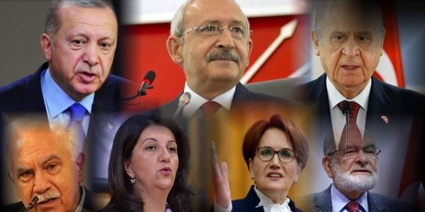Erdoğan,Kılıçdaroğlu ve Bahçeli Sokağa Çıkma Yasağı Kapsamında...