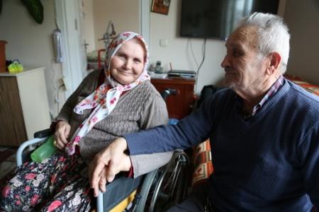 Geçmişimize vefa, yaşlılara saygı ziyaretleri