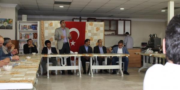 """HDP ilçe başkanı Seyithan Kırmızı """"Medine Vesikası uygulansın sorun kalmaz"""" dedi"""