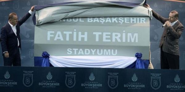 İBB'den Başakşehir'e jest ;Fatih Terim Stadyumu