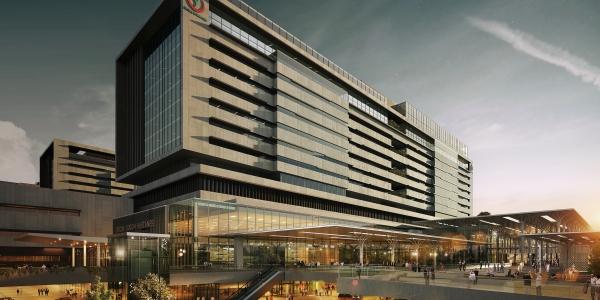 İstanbul Başakşehir Şehir Hastanesi Ete Kemiğe Büründü