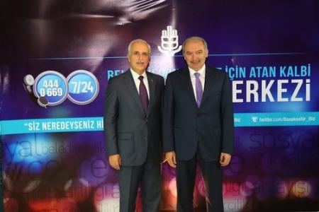 İstanbul Valisi Hüseyin Avni Mutlu Başakşehir'de