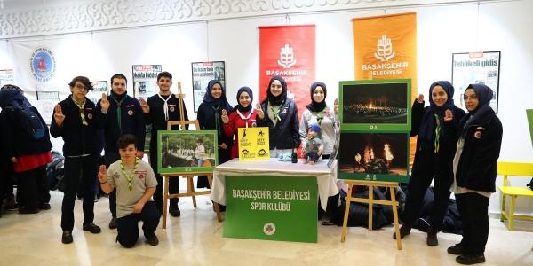 İstanbul'un izcileri Başakşehir'de buluştu