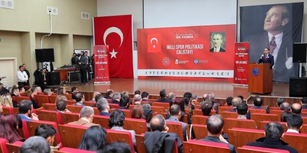 Milli Mücadele'nin 100. Yılında Türk Sporu Konuşuldu