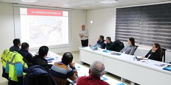 Sivil Savunma ekibi eğitimlere başladı