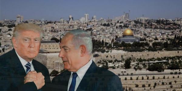 Siyonist Finosu TRUMP Kudüsü İsrail'e verdim dedi...