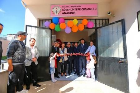 TAV'dan Başakşehir'e Anaokulu ve Bilgisayar sınıfı