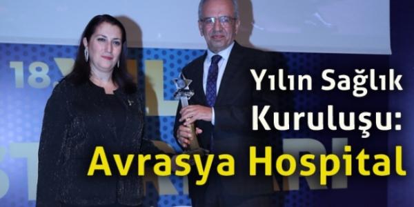 Yılın Sağlık Kuruluşu: Avrasya Hospital