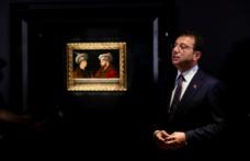 Başkan İmamoğlu, Fatih'in tablosunuOsmanlı Hanedanı fertleriyle buluşturdu