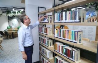 Başakşehir'e Hacı Bektaş Veli Kütüphanesi