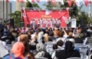 Başakşehir'de 23 Nisan coşkusu