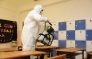 Başakşehir'de Okullar Eğitime Hazırlanıyor