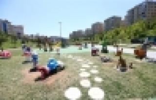 Başakşehir'e Temalı Oyun Parkları