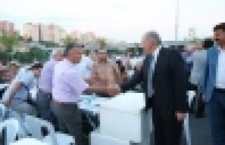 Başkan Uysal, Eğitimciler ile iftar yaptı