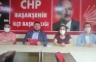 CHP Başakşehir İlçe Başkanı Bakır ;Kaftancıoğlu...