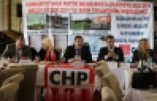 CHP Belediyenin 2015 yılı bütçesini yerden yere...