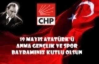CHP'den 19 Mayıs Açıklaması