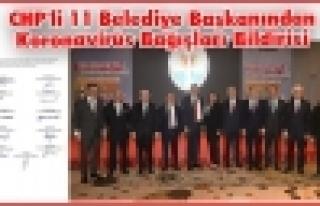 CHP'li 11 Büyükşehir Belediye Başkanından Bloke...