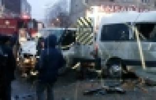 Güvercintepe'de Korkunç Trafik Kazası