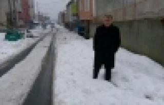 Güvercintepe'de Kar Yağışı Bitti Ama Çilesi...