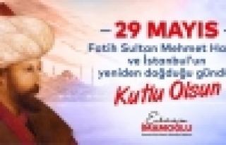 İBB' den İstanbul'un 567.Fetih Yıl Dönümüne...