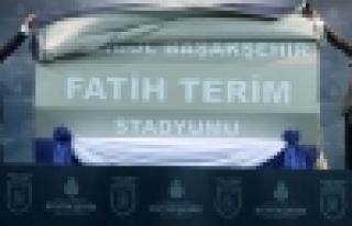 İBB'den Başakşehir'e jest ;Fatih Terim Stadyumu...