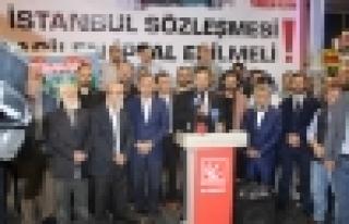 İstanbul Sözleşmesi Acilen İptal Edilsin