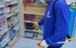 Okullarda sömestr temizliği başladı
