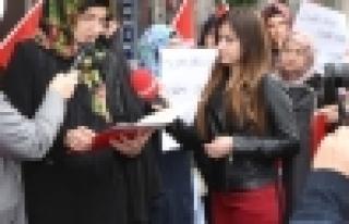 Saadet Partisi Kadın Kollarından Mescid-i Aksa Açıklaması